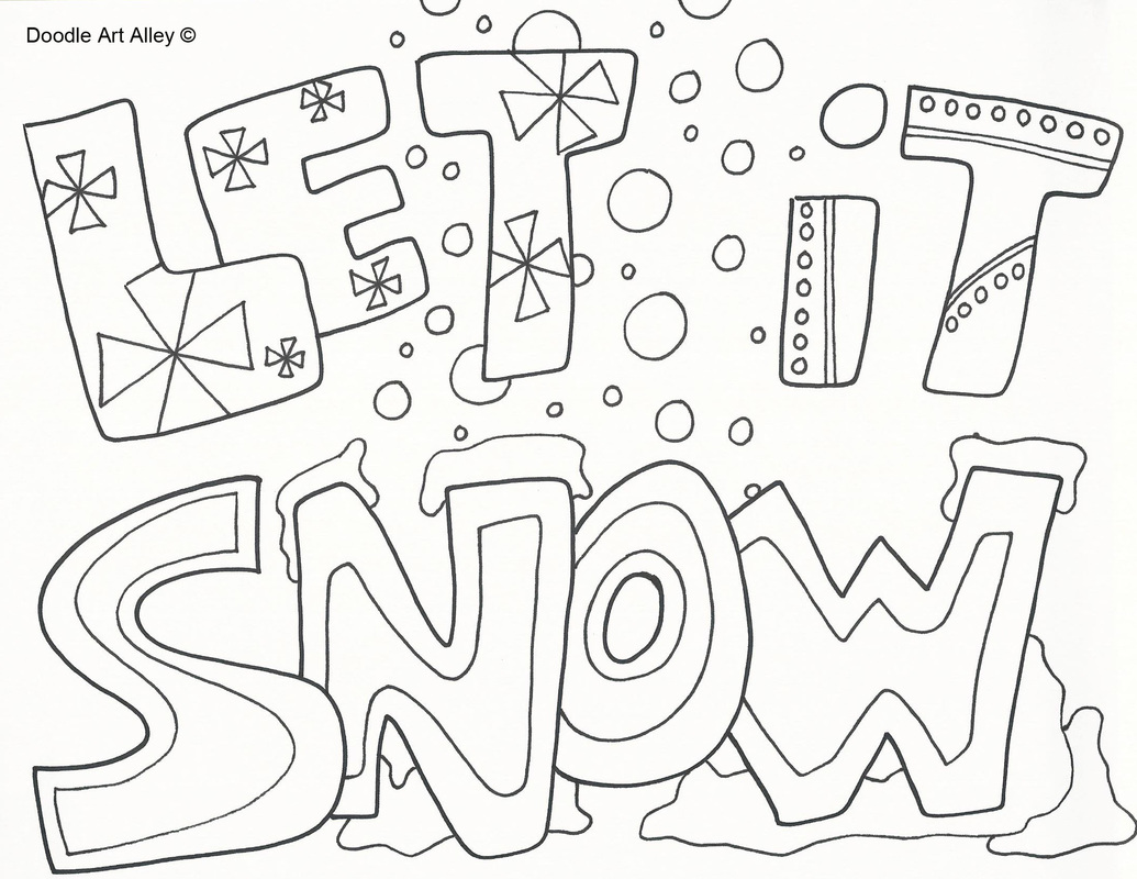 Crayola Coloring Pages Winter at GetDrawings.com | Free for personal ...