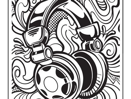 printable graffiti coloring pages for boys Coloring4free - Coloring4Free.com | 329x433