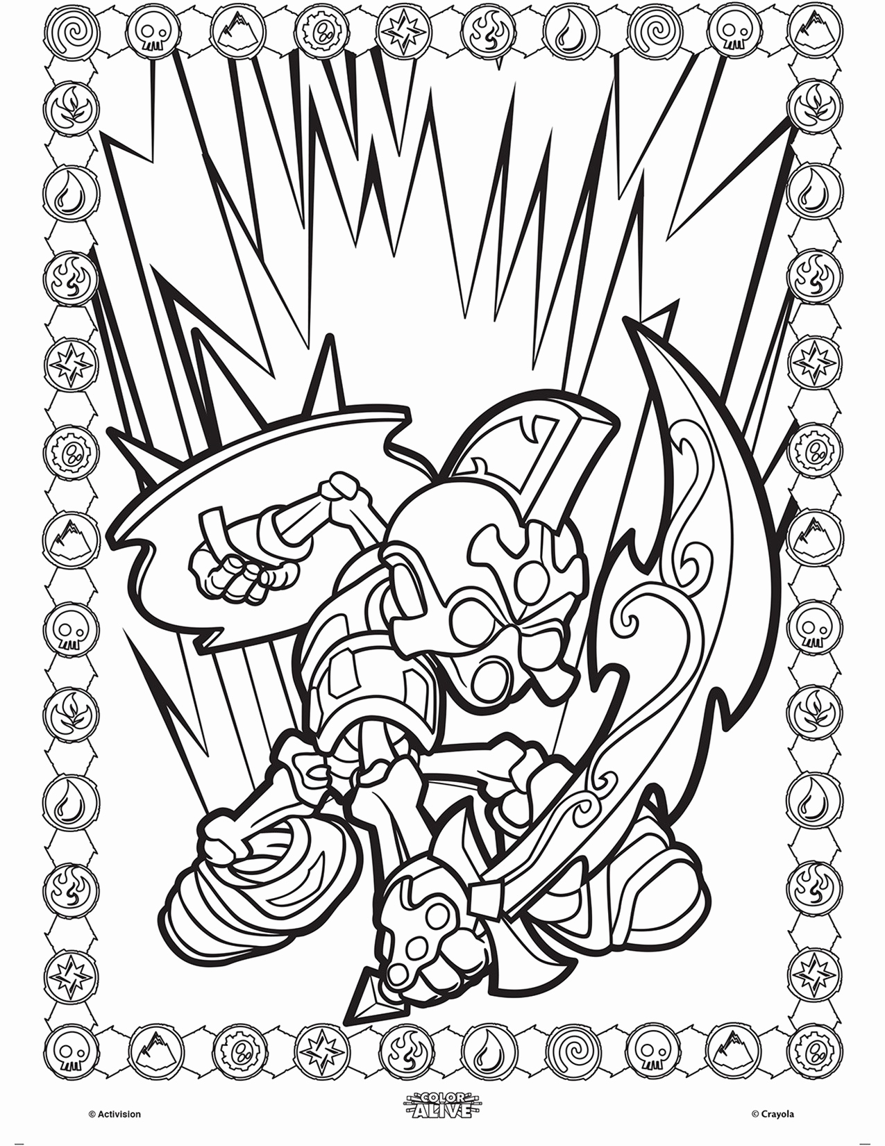 Crayola Giant Coloring Pages