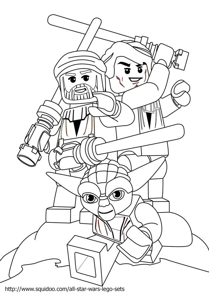 736x1041 Grand Star Wars Lego Printable Coloring Pages Ninjago Bebo Pandco