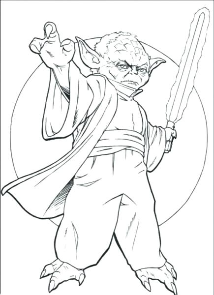 435x600 Lightsaber Coloring Pages Page For Kids