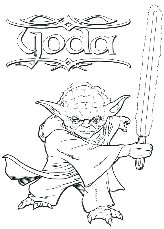 567x794 Star Wars Color Pages Ideal Star Wars Coloring Pages To Print