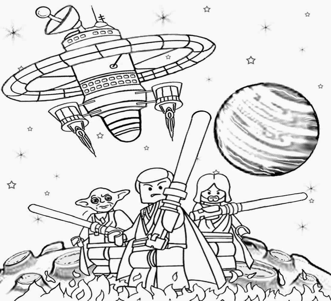 1100x1000 Star Wars Coloring Pages