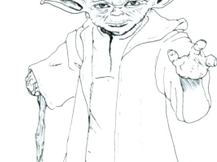 440x330 Yoda Coloring Page Coloring Coloring Pages Star Wars Coloring