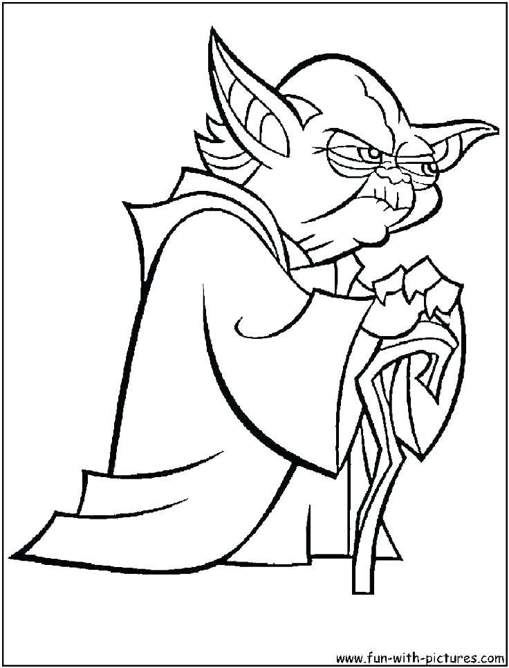736x966 Yoda Coloring Pages Star Wars Coloring Pages Coloring Page Star