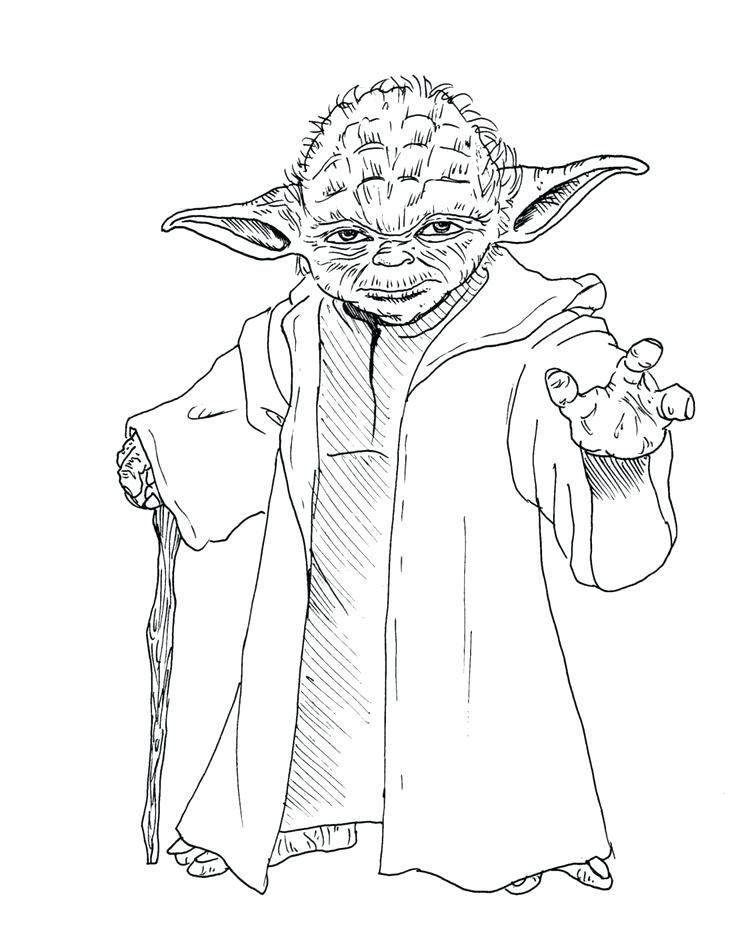 736x928 Yoda Coloring Pages Star Wars Coloring Sheets Free Printable