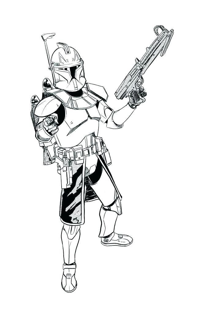673x1024 Clone Coloring Pages Clone Coloring Pages Cool Clone Trooper
