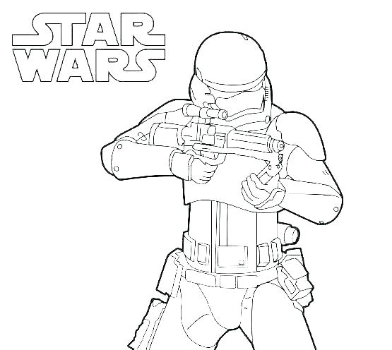555x496 Clone Trooper Coloring Page Star Wars Coloring Pages To Print