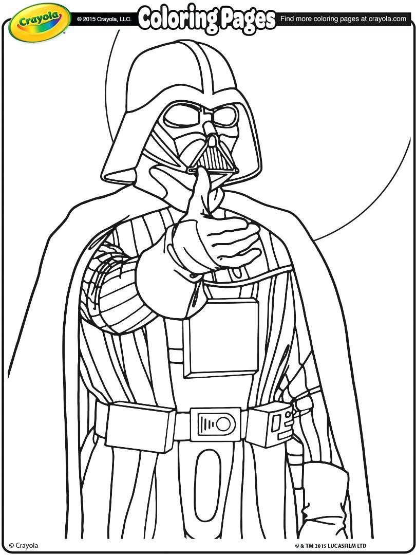 810x1080 Crayola Star Wars Giant Coloring Pages Copy Color