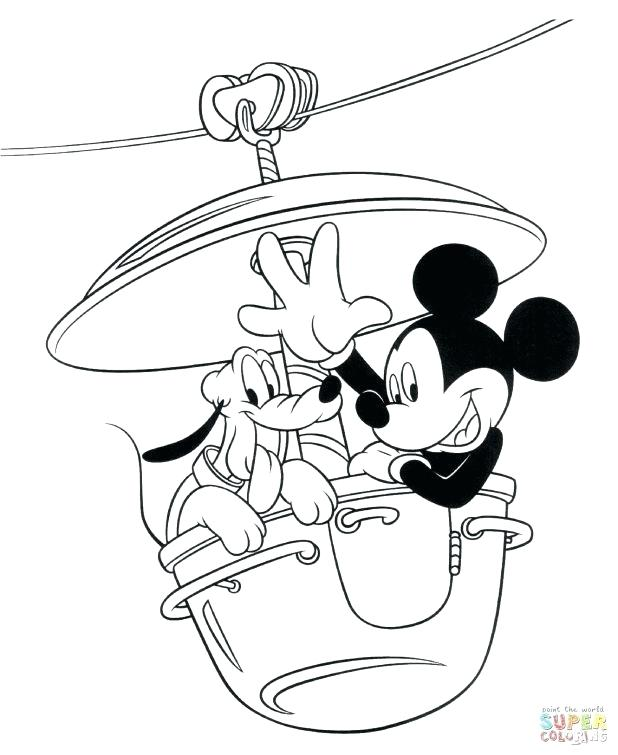 618x755 Crayola Star Wars Giant Coloring Pages New Mickey With Wonderful
