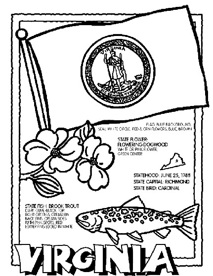431x560 Usa Printables Washington State Stamp Us States Coloring Pages