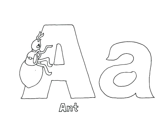 600x474 Letter People Coloring Pages The Letter People Coloring Pages Free
