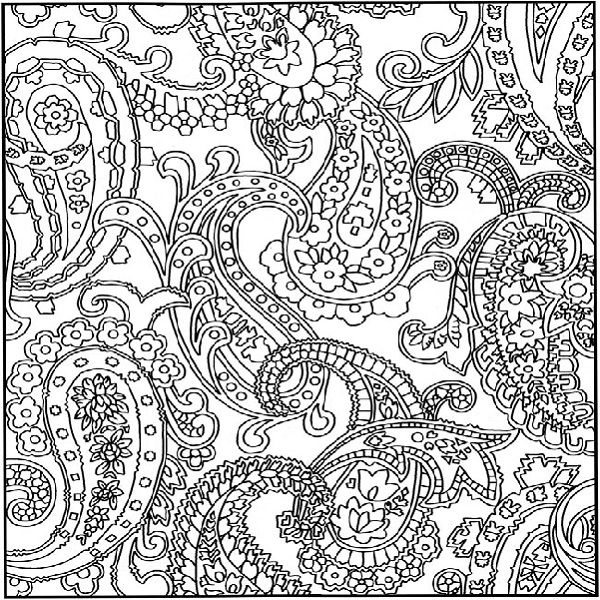 600x600 Crazy Pattern Coloring Pages Coloring Pages And Design