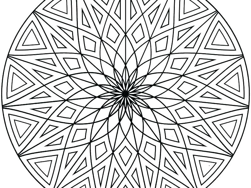 800x600 Crazy Design Coloring Pages