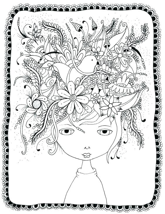 563x729 Free Coloring Pictures Adults Kids Coloring Crazy Coloring Pages