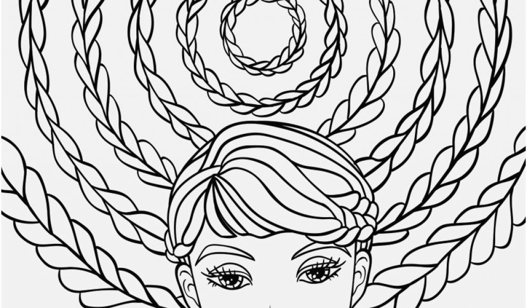 1024x600 Relaxing Coloring Pages Pictures Crazy Hair Adult Coloring