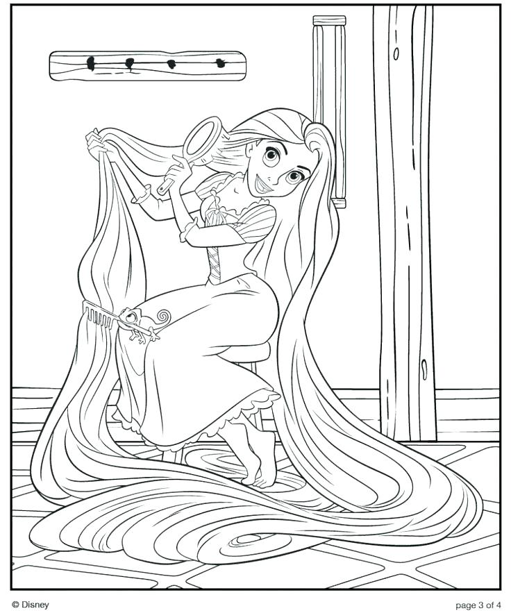 736x883 Hair Coloring Pages