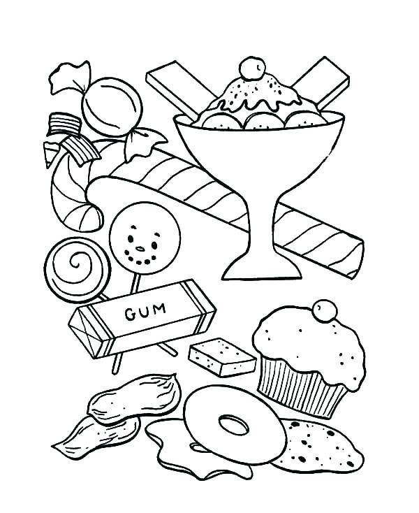 600x734 Ice Cream Cone Coloring Page Coloring Pages Ice Cream Ice Cream