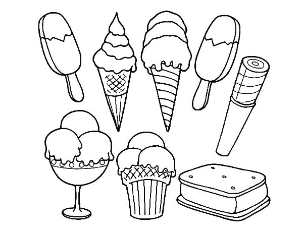 600x464 Coloring Pages Ice Cream Ice Coloring Pages Beautiful Ice Cream
