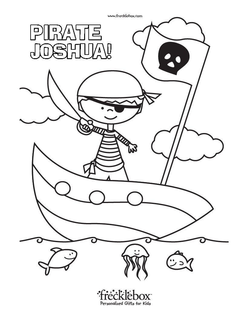 816x1056 Free Personalized Coloring Pages With Your Child's Name Child