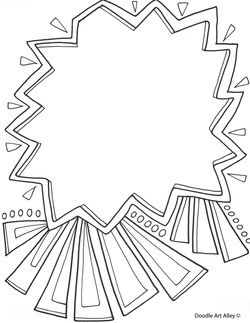 250x323 Use These Free Printable Doodle Art Pages To Create A Fun Coloring