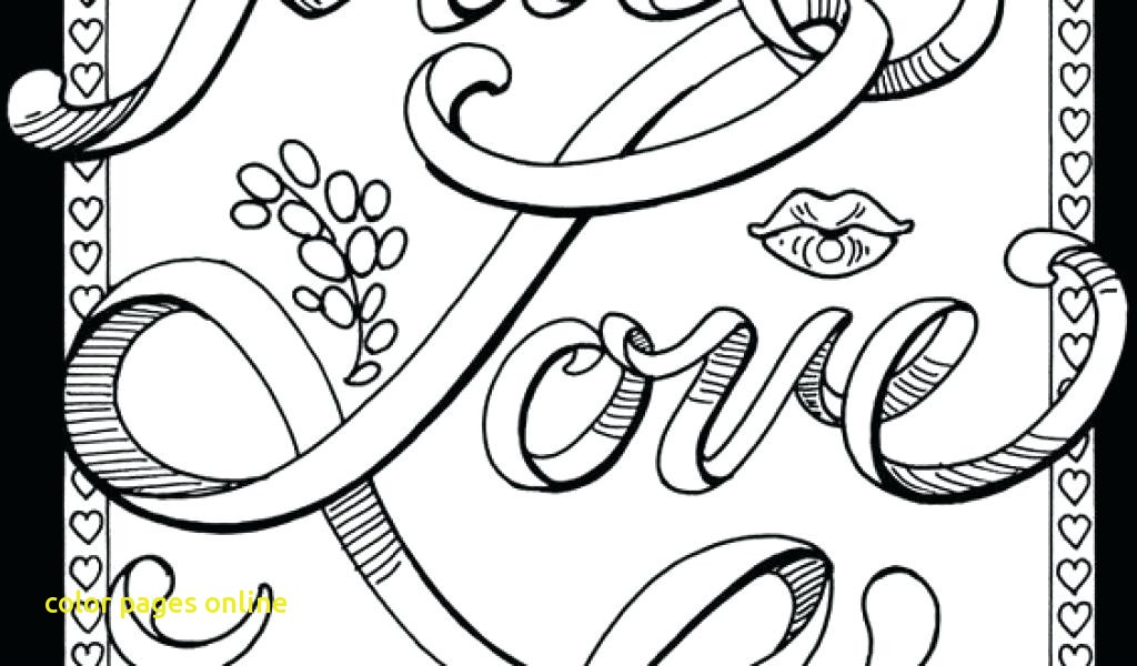 1024x600 Color Pages Online With Create Coloring Pages Printable Name