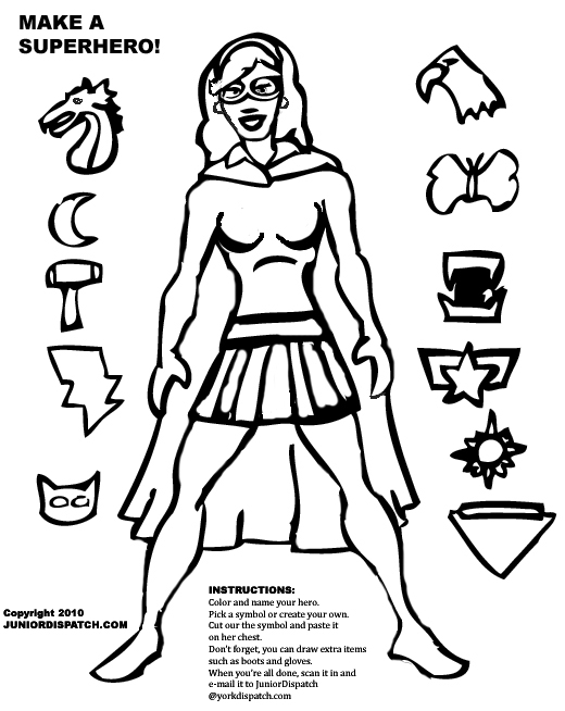 520x654 Create Your Own Coloring Page