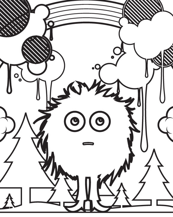 Create Your Own Coloring Page At Getdrawings Com Free For Personal