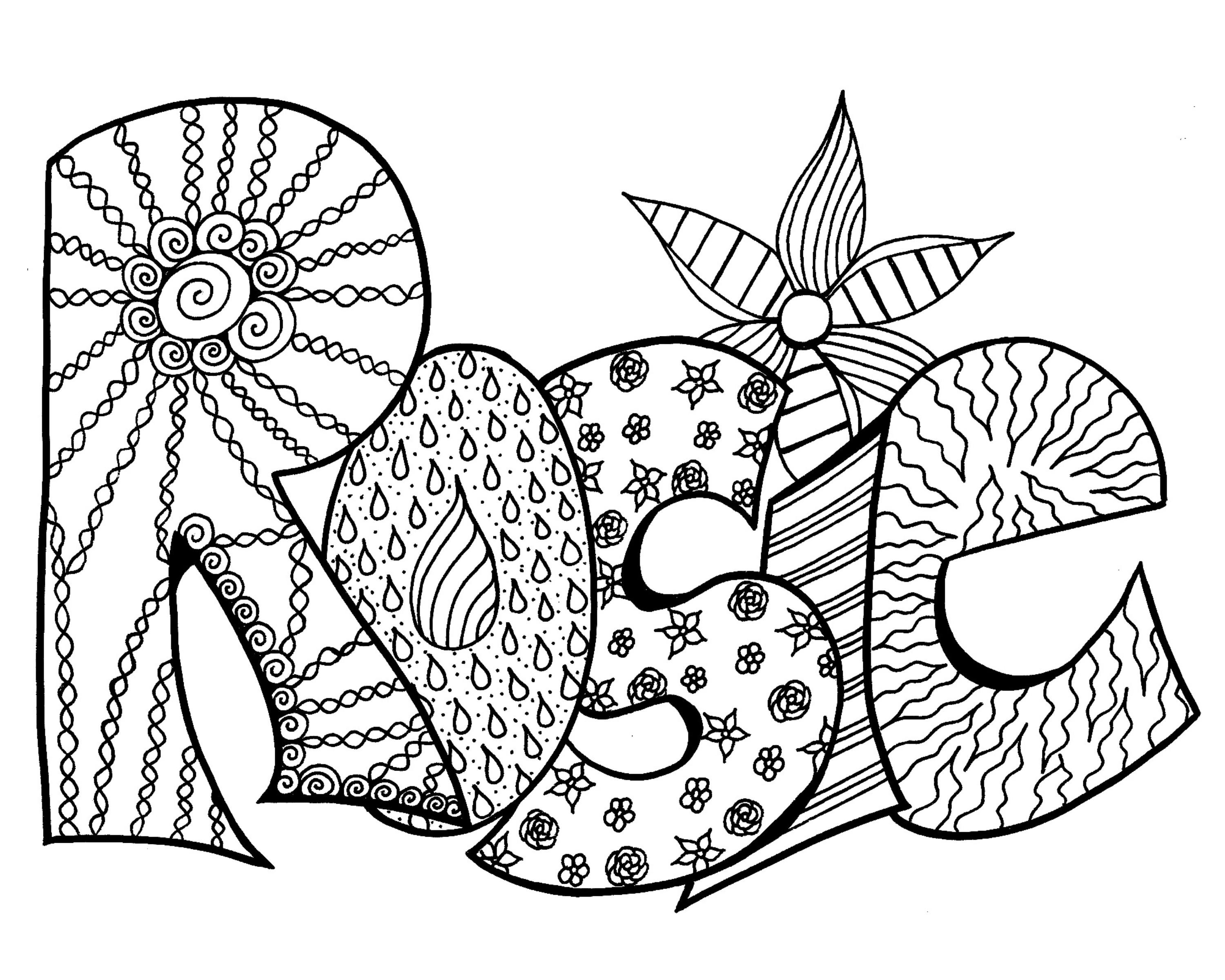 3000x2400 Elegant Coloring Pages Your Name