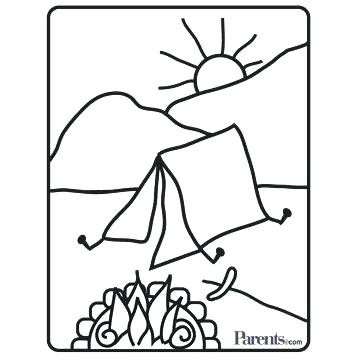 360x360 Bakery Coloring Pages Create Your Own Coloring Page Camping