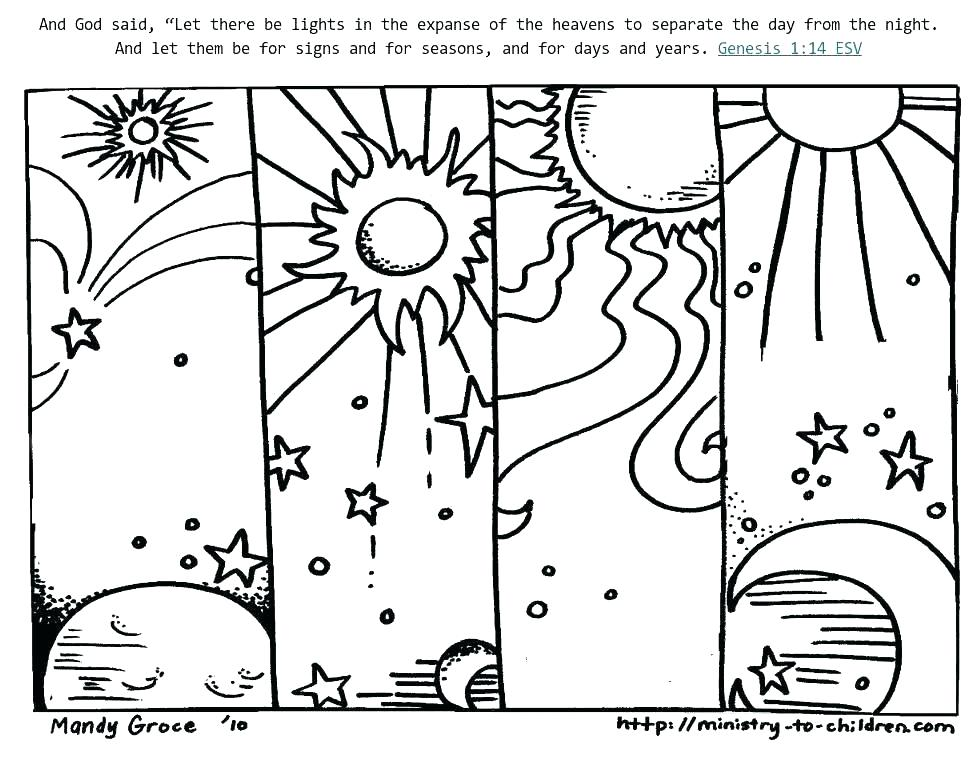974x763 Biblical Creation Coloring Pages Preschool Gorgeous Bible
