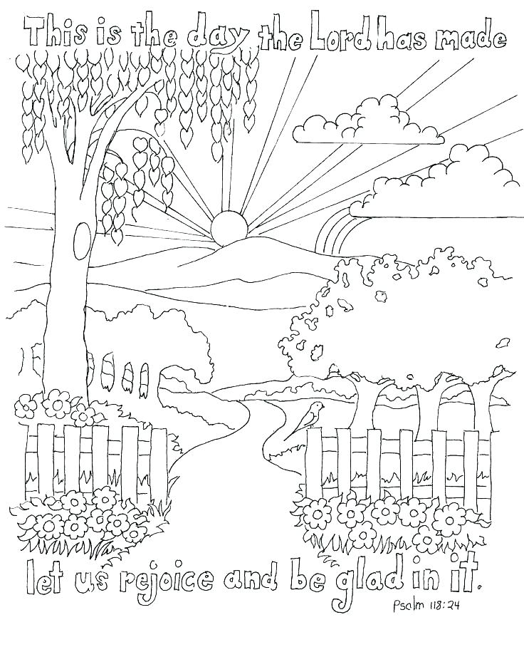 736x922 Days Of Creation Coloring Pages Coloring Pages Of Gods Creation