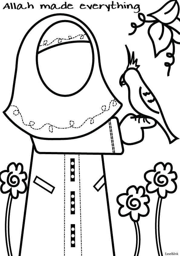 595x842 Islamic Coloring Pages Games Coloring Pages Printable Creative
