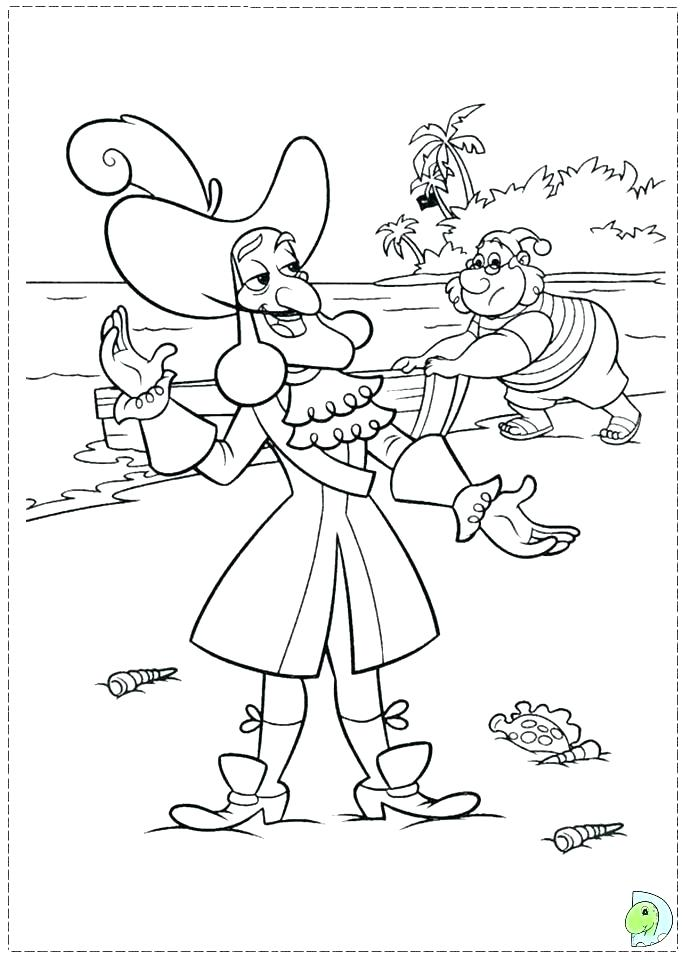691x960 Captain Hook Coloring Pages Captain Hook Coloring Pages Creative