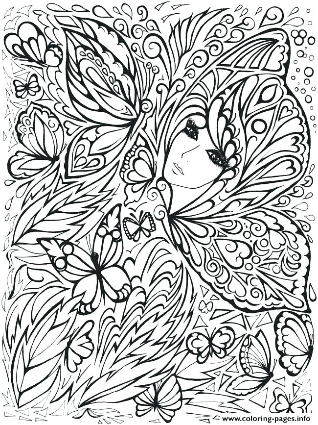 650x867 Coloring Pages For Adults To Print Cool Printable Creative Haven