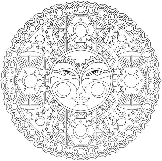 Creative Coloring Pages For Adults at GetDrawings.com | Free ...