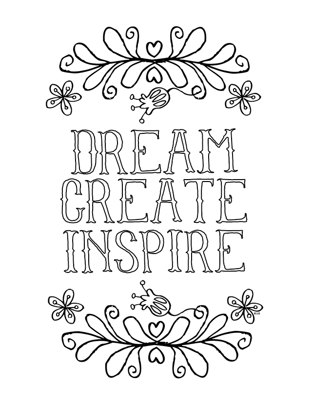 640x828 Inspirational Coloring Pages To Download And Print For Free