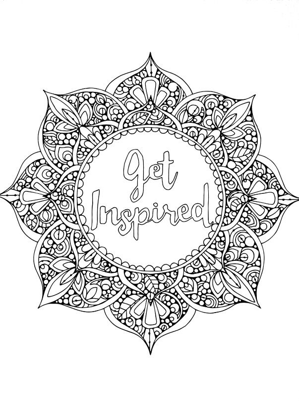 Creative Coloring Pages For Adults at GetDrawings.com | Free for ...