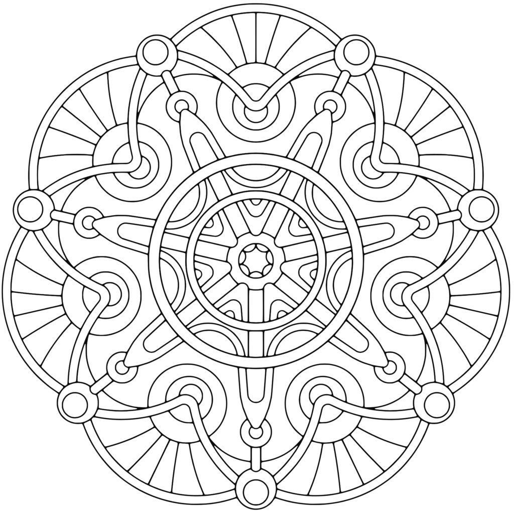 1024x1024 Creative Coloring Pages For Adults