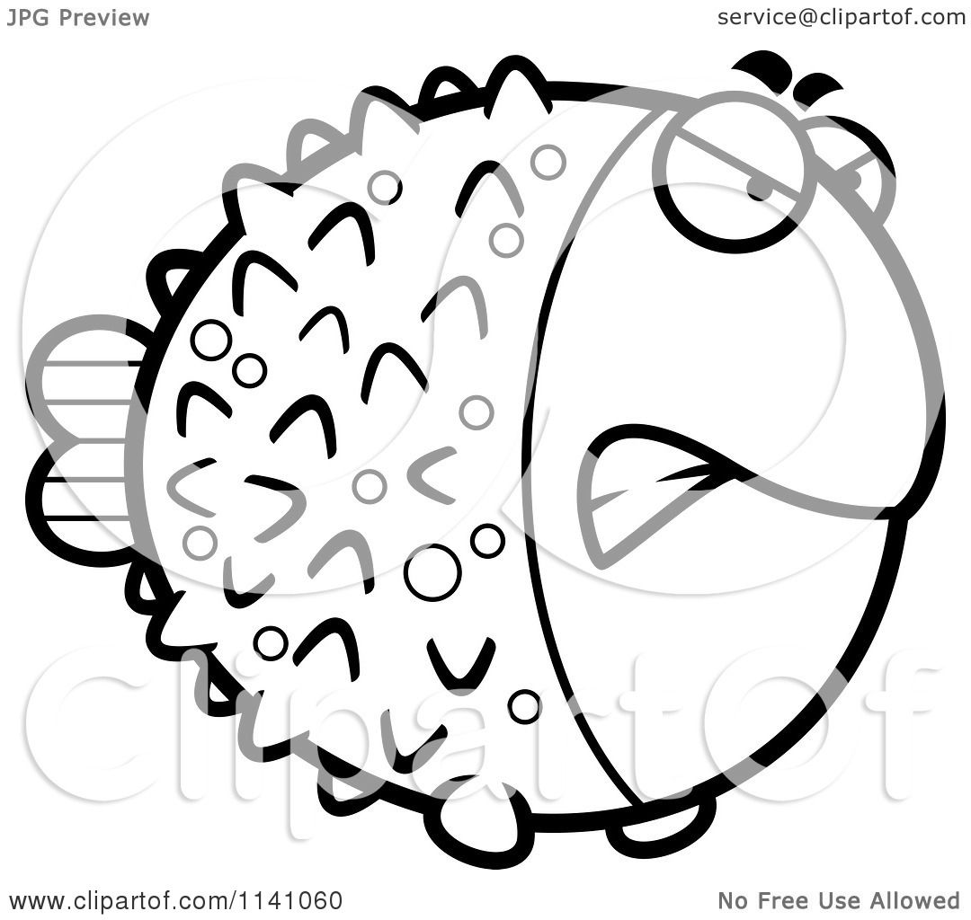 1080x1024 Creative Cuties Coloring Pages Sketch Page Blowfish