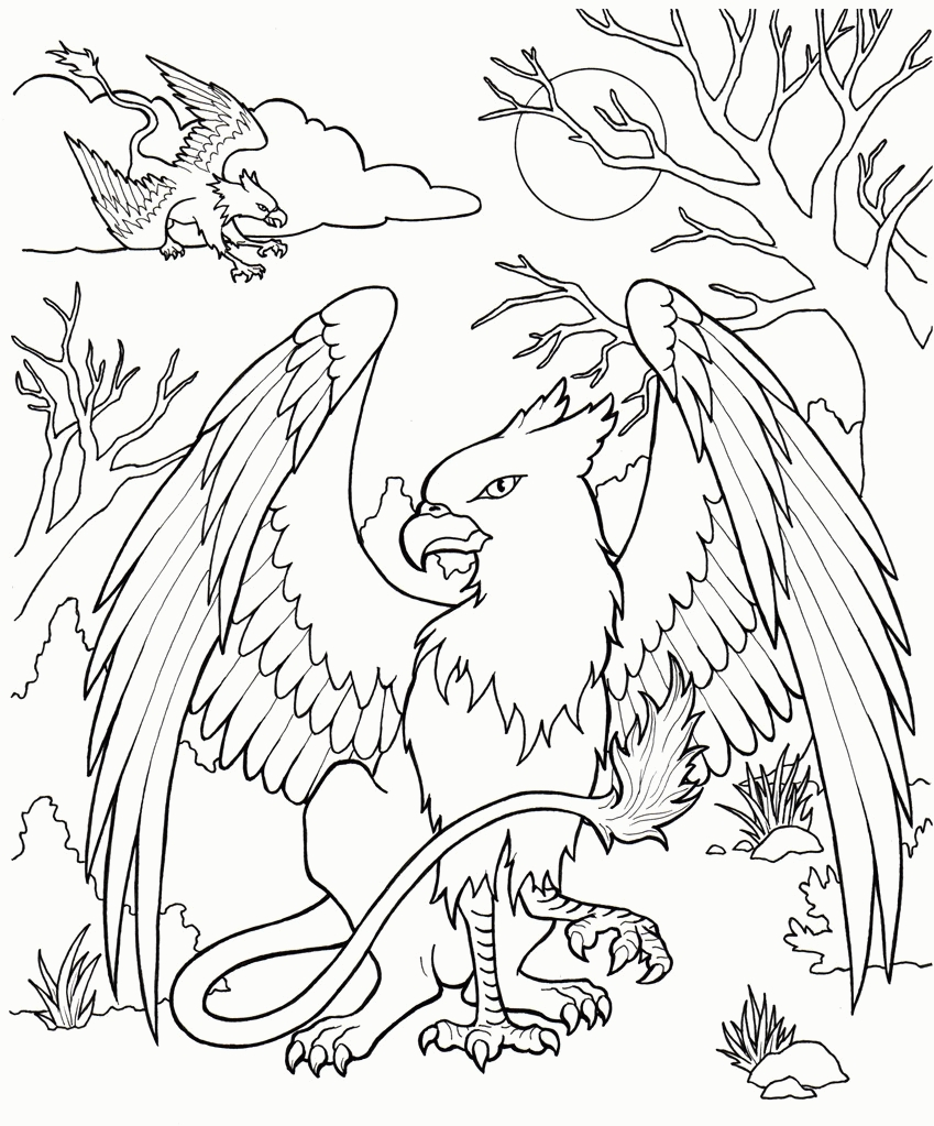 Creature Coloring Pages