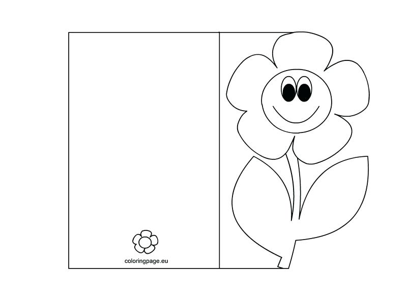 804x595 Card Coloring Pages Mothers Day Card Coloring Page Credit Card