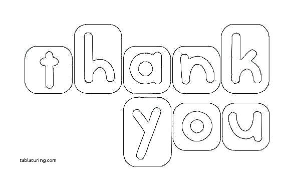 571x365 Credit Card Colouring Pages Thank You Coloring For Kids Collection