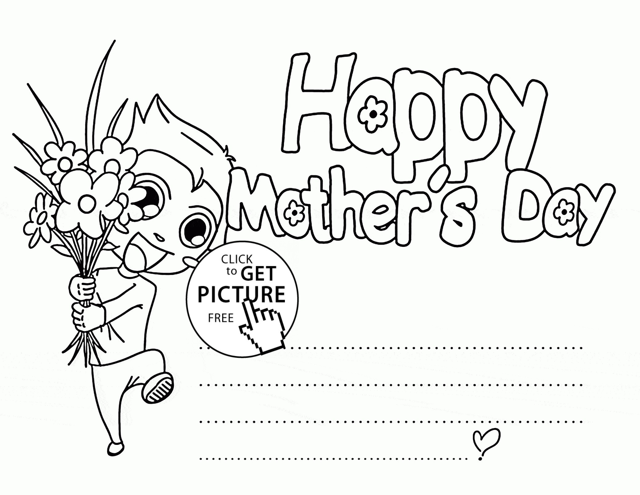 2080x1610 Refrence Happy Mother's Day Card Coloring Pages New Happy Mothers