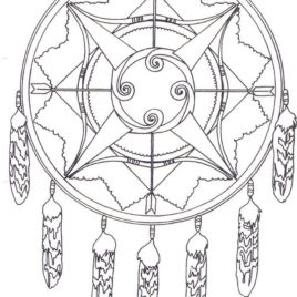 268x268 Creek Indian Coloring Page Kids Drawing And Coloring Pages