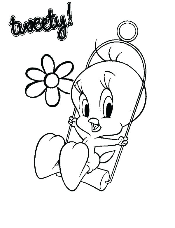 600x780 Coloring Pages Tweety Bird Bird Whatever Creek Impressions Free
