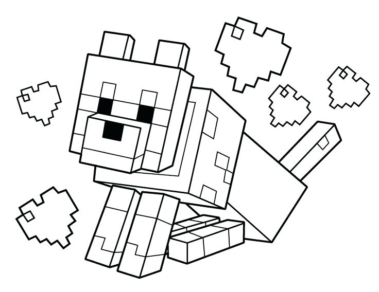 736x568 Minecraft Color Pages Coloring Pages Free Printable Coloring