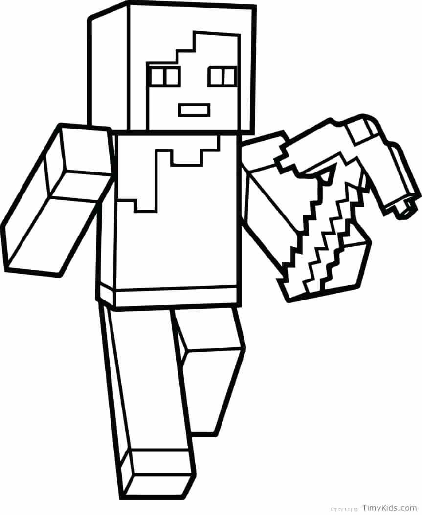 863x1054 Minecraft Craft Coloring Pages Best Of Coloring Pages Best Mine