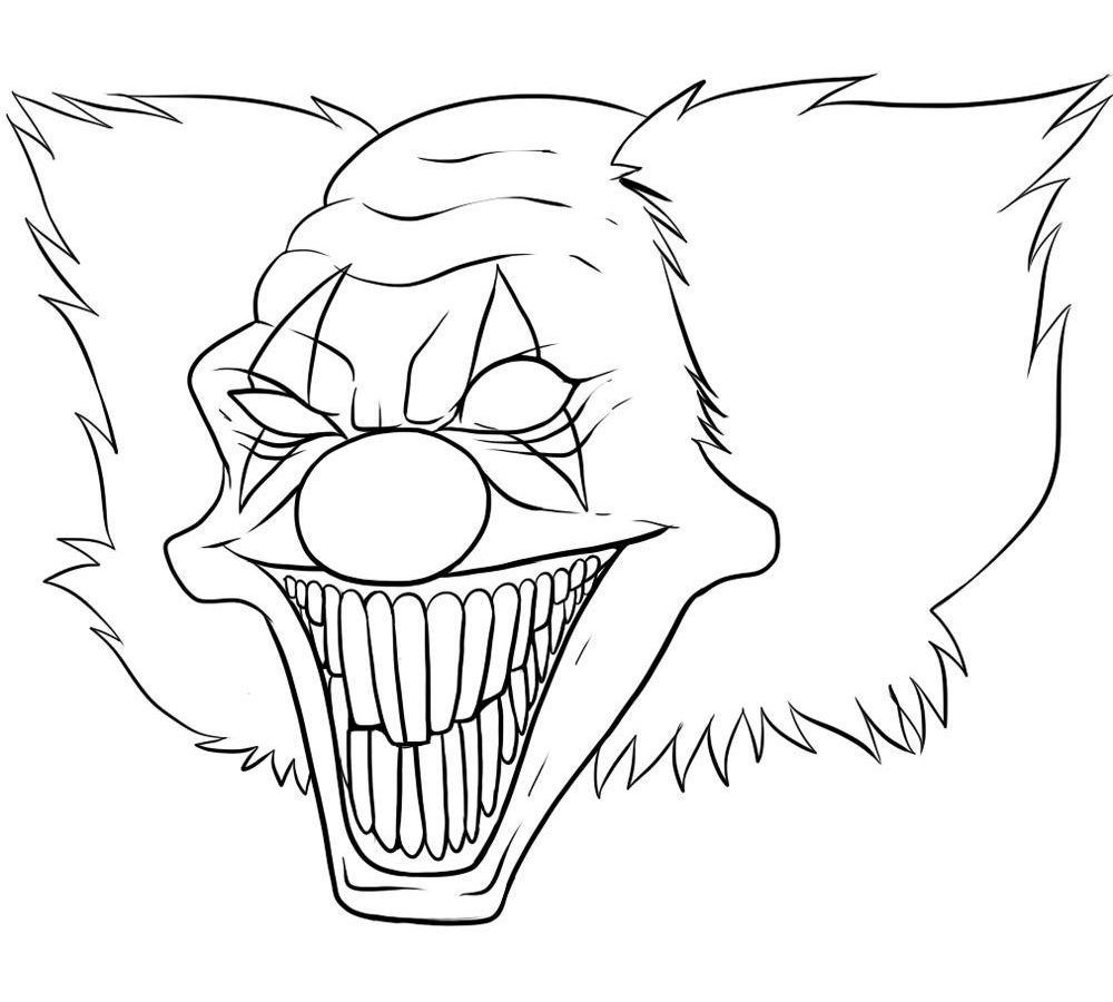 Creepy Coloring Pages For Adults