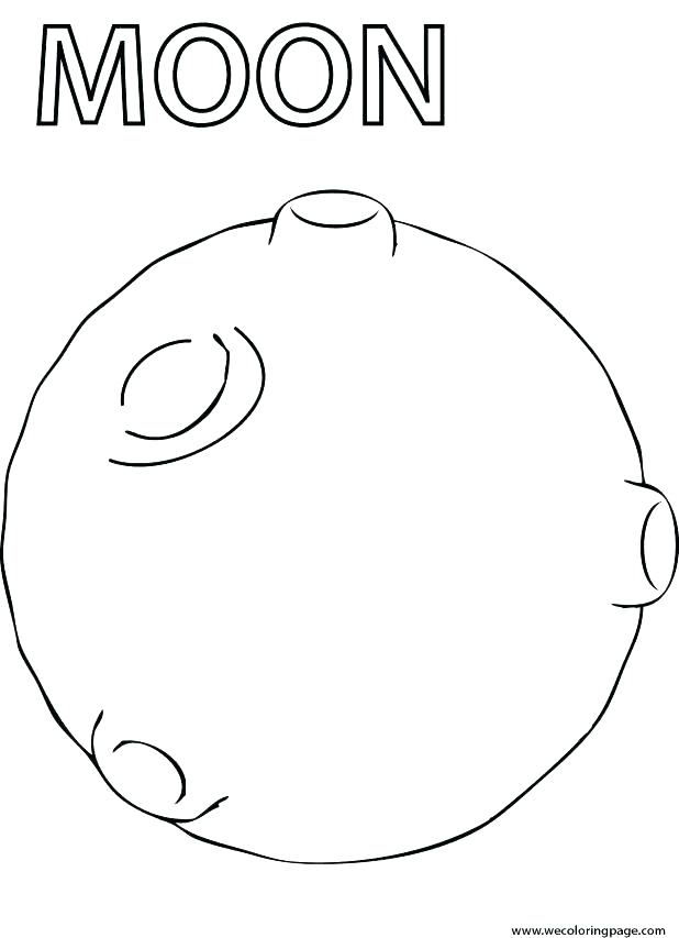 Crescent Coloring Page